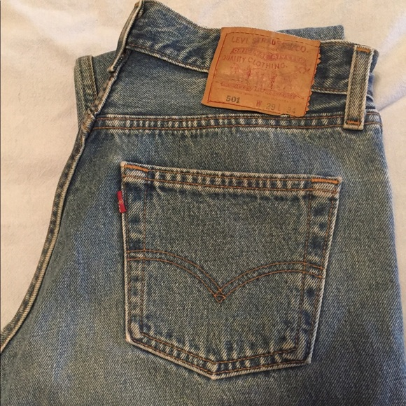 0d9daf3d Levi's Jeans | Vintage Levi 501 29x34 Excellent Condition | Poshmark